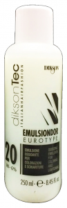DIKSON Acqua Emulsione EMULSINDOR 20 Volumi 250 Ml. Prodotti per capelli