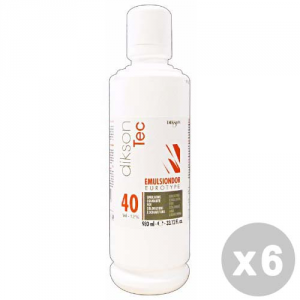 DIKSON Set 6 DIKSON Acqua emulsione emulsindor 40 vol. 980 ml.