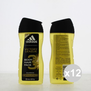 Set 12 Adidas Shower 250 3in1 Victory Leag Products For Bath And Shower