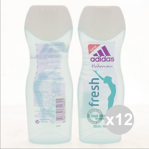 Set 12 Adidas 250 Woman Shower Fresh For Woman Products For Bath And Shower