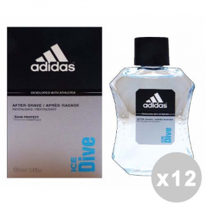 ADIDAS Set 12 ADIDAS Aftershave Hielo Buceo 100 ml - Aftershave