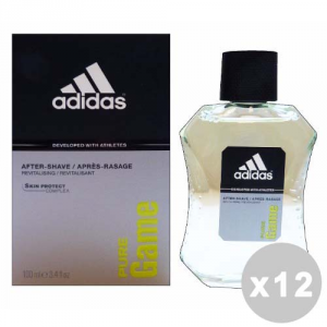 ADIDAS Set 12 ADIDAS Aftershave Puro Juego 100 ml - Aftershave