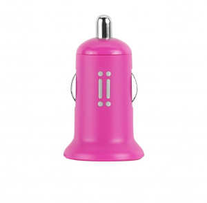 Aiino 1usb 1a Car Charger - Pink