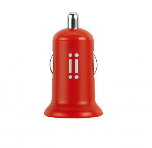 Aiino Car Charger 1usb 1a - Red