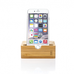 Aiino Universal Bamboo Table Support For Smartphones