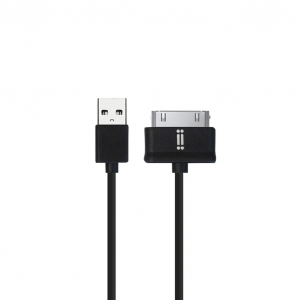 Aiino Samsung 30-pin Tpe Cable - Black