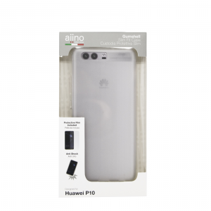 AIINO Cover Coque Gumshell pour couvrir Huawei P10 - Transparent