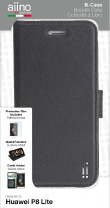 AIINO B-Cover to Cover Book pour Huawei Lite P8 - Noir