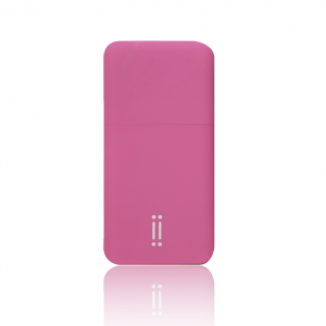 AIINO Power Bank Batteria Portatile 5200 mAh - Rosa