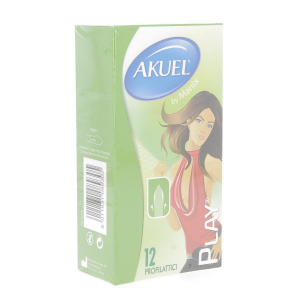 AKUEL Play 12 Pezzi Preservativi Maschili Condom Profilattici in vendita online