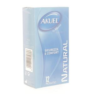 Akuel Natural 12 Pieces Condoms Male Condoms Condom