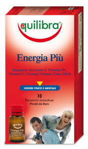 Equilibra Energy Più * 10 Bottles - Products Food