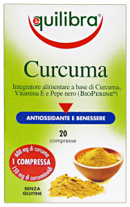 Equilibra Turmeric * 20 Capsules - Products Food