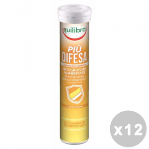 Equilibra Set 12 Equilibra More Defense Effervescente * 20 Capsules - Products Food