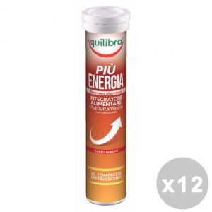 Equilibra Set 12 Equilibra More Energy Effervescente * 20 Capsules - Products Food