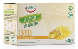 EQUILIBRA Herbal tea Bio Ginger 20 Envelopes Tzeb Infusion drink