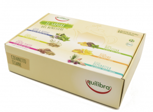 EQUILIBRA Geschenk Kräutertee Multigusti 60 Umschläge Cofnat03 Infusionsgetränk