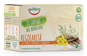 Equilibra Herbal Tea Bio Regularity 20 Envelopes Trgb Infusion Drink