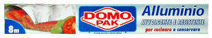DOMOPAK Alluminio 8 mt. - Avvolgenti e sacchetti alimenti