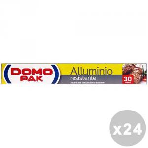 DOMOPAK Set 24 DOMOPAK Alluminio 30 mt. - sacchetti per alimenti