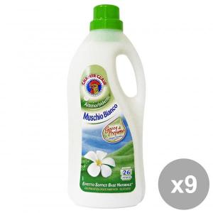 Chante Clair Set 9 Softener 26 Mis.muschio White Detergents House