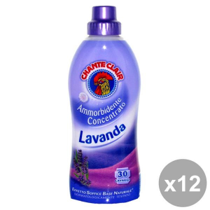 Chante Clair Set 12 Softener Concentrate 625 Ml Lavender Detergents House