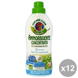 Chante Clair Set 12 Softener Concentrate Eco.ortensia 625 Ml Detergents House