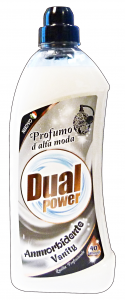 DUAL POWER Ammorbidente concentrato 40 lavaggi vanity 1 lt.