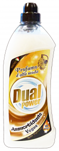 DUAL POWER Ammorbidente concentrato 40 lavaggi vogue 1 lt.