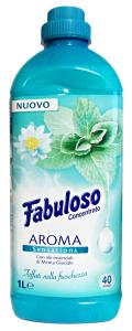 FABULOSO Ammorbidente Concentrato 1 Lt. Menta GLACIALE Detergenti Casa