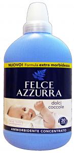 FELCE AZZURRA Ammorbidente concentrato dolci coccole 750 ml.