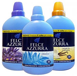 FELCE AZZURRA Ammorbidente concentrato classico/lavanda/argan 750 ml.