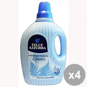 FELCE AZZURRA Set 4  Ammorbidente 3 Lt. Profumante Classico Detergenti Casa