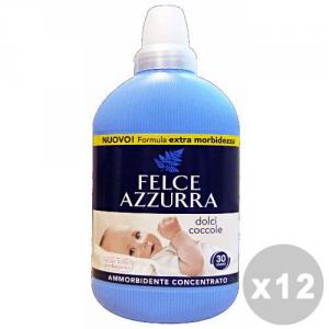 FELCE AZZURRA Set 12 FELCE AZZURRA Ammorbidente concentrato dolci coccole 750 ml.