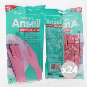 Set 24 Ansell  Gloves Home & Kitchen Little House Cleaning And Laundry Detergents