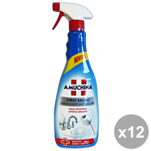 Set 12 AMUCHINA Anticcare Bathroom  750 ml Detergents House