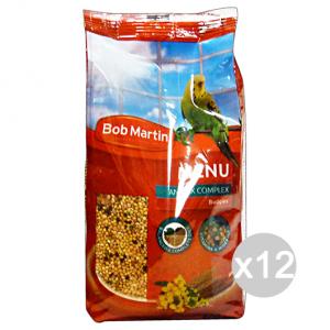Set 12 BOB MARTIN Pappagallini Menu' Completo Prebiotic 400 Gr  Animali Domestici