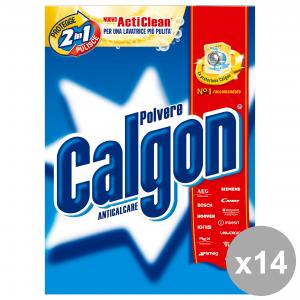 Set 14 CALGON Anticalcare Polvere 850 Gr.  Detergenti casa