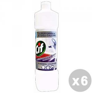 CIF Set 6 CIF Anticalcare bagno professionale 1 lt. - decalcificanti & anticalcare