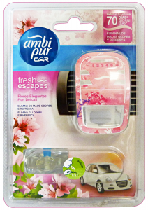 AMBI-PUR Auto Base FIORI Delicates Deodorant Accessories Car And Motor