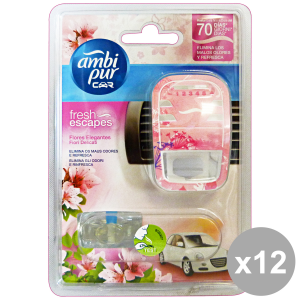 Set 6 Ambi Pur Car Base Flowers Delicate Deodorant Accessories Car And Motor