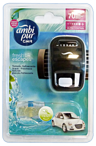 AMBI-PUR Auto Base AQUA Deodorant Accessories Car And Motor