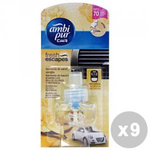 AMBI PUR Set 9 AMBI PUR Aufladen Vanille Deodorant Auto - Artikel Für Autos