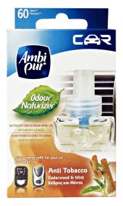 Ambi Pur Auto Anti-tobacco Refill Deodorant - Articles For Cars