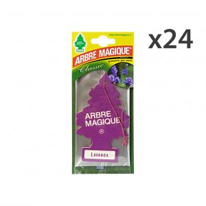 Set 24 Arbre Magique Deodorant Lavender Accessories Car And Motor
