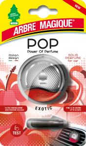 ARBRE MAGIQUE Pop Exotic Deodorante Con Gancio Solido Profumatore Per Auto