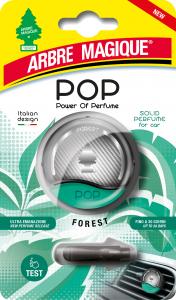 ARBRE MAGIQUE Pop Forest Deodorante Con Gancio Solido Profumatore Per Auto