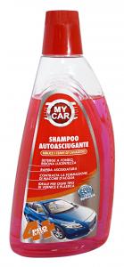 MY CAR Shampoo autoasciugante 1 lt. - Articoli per auto