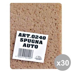 LA PIACENTINA Set 30 Spugna Per LavaRE L'AUTO ART.0240 Accessori auto e moto