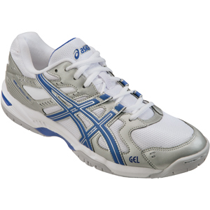 Men's Volleyball Shoes Asics Gel Rocket 6 Silver Blue B207n